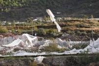 ORMAN MÜDÜRLÜĞÜ - Anamur'da Hortum Seraları Vurdu
