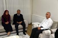 ŞEHİT BABASI - Başkan Günaydın'dan Şehit Öcal'ın Ailesine Ziyaret