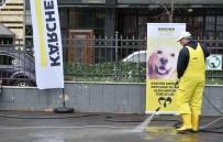 CIHANGIR - Beyoğlu'nda Hayvan Barınaklarına Özel Temizlik Uygulaması