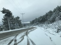 KAR TOPU - Bursa'nın Dağ İlçeleri Kar Altında
