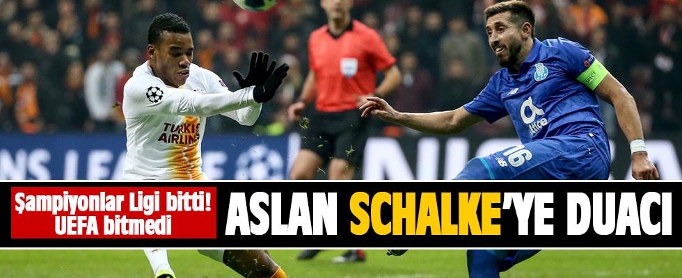 Galatasaray Schalke 04'e duacı!