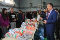 HAKKARİ VALİSİ - Hakkari'deki 40 Okula Spor Malzemesi Desteği