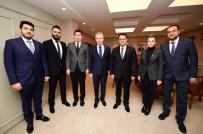 DAVUT GÜL - İMO Yöneticileri Vali Davut Gül'ü Ziyaret Etti