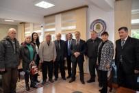 MEZHEP - İnsan Hakları Kurulu Üyelerinden Vali Vekili Taşdöğen'e Ziyaret