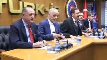 ESNAF VE SANATKARLARı KONFEDERASYONU - İşçi Ve İşveren Temsilcilerinden Türk-İş'e Ziyaret