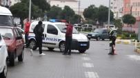 KADIN SÜRÜCÜ - Kadın Sürücünün Kullandığı Otomobil Ters Döndü