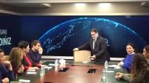 KAZAKISTAN - Kazakistan Medya Heyetinden AA'ya Ziyaret