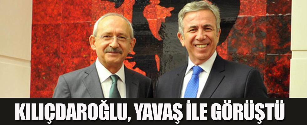 Kılıçdaroğlu, Yavaş ile görüştü