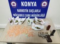 DEDEKTÖR KÖPEK - Konya'da Torbacılara Şafak Operasyonu Açıklaması 4 Gözaltı