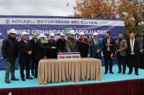 İBRAHIM KARAOSMANOĞLU - Körfez'in Yeni Spor Salonu İçin Temel Atıldı