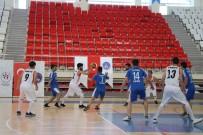 METİN YILDIZ - KYK'lı Gençler Basketbol Turnuvasında Mücadele Etti