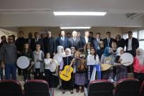 NEMRUT DAĞI - 'Müzikal Okullar' Projesi İle Enstrüman Dağıtıldı