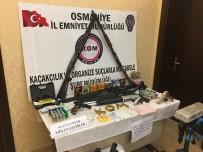 SİLAH KAÇAKÇILIĞI - Osmaniye'de Silah Kaçakçılığı Operasyonu Açıklaması 18 Gözaltı