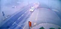 Otomobilin Takla Attığı Anlar Kamerada
