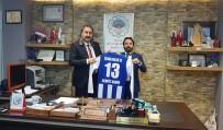 CENGIZ ŞAHIN - Spor Camiasından Cengiz Şahin'e Teşekkür Ziyareti