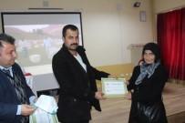 Tuzluca'da Genç Çiftçilere Eğitim Sonrası Katılım Belgesi Verildi