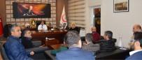 SANAYI VE TICARET ODASı - Anadolu Sağlık Turizmi Derneği (ASTUDER) Yönetim Kurulu Ve Paydaş Kurumlarından İl Sağlık Müdürü Benli'ye Ziyaret