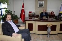 Mehmet Yiğiner - Ankaragücü Kulüp Başkanı Ve Ankara ESOB Başkanı Mehmet Yiğiner'den Konak'a Ziyaret