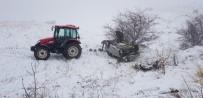ALI HAYDAR - Aşkale'de Trafik Kazası Açıklaması 1 Yaralı