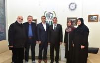 KANAAT ÖNDERLERİ - Başkan Gürkan, İHH Malatya Şubesini Ziyaret Etti
