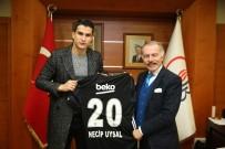 NECIP UYSAL - Beşiktaşlı Necip Uysal'dan Başkan Aydıner'e Ziyaret