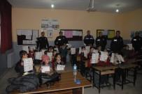 TOPLUM DESTEKLI POLISLIK - Bulanıklı Öğrencilere 'Güvenlik Ve Trafik' Eğitimi