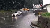 Çamlıca Tepesinde Lapa Lapa Kar Yağışı Başladı