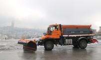 ÇANKAYA BELEDIYESI - Çankaya'dan Kar Yağışına Karşı Acil Müdahale