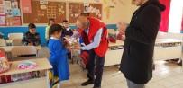 KIRTASİYE MALZEMESİ - Çıldır Türk Kızılay Köy Okullarında