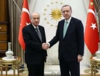 DEVLET BAHÇELİ - Erdoğan-Bahçeli görüşmesi başladı