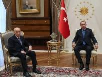 DEVLET BAHÇELİ - Erdoğan Bahçeli'yle görüştü