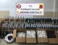 HOŞKÖY - Jandarmadan Kaçak İçki İmalathanesine Baskın