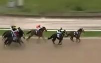 JOKEY - Jokeyini Düşüren At Yarışı İlk Sırada Tamamladı