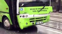Kocaeli'de 2 Yolcu Midibüsü Çarpıştı Açıklaması 4 Yaralı
