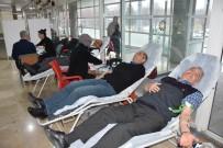 İKİNCİ EL EŞYA - Kocasinan Belediyesi'nin Personeli Kan Bağışında Bulundu