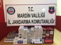 KAÇAK SİGARA - Mardin'de 950 Paket Kaçak Sigara Ele Geçirildi