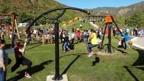 DÜĞÜN HAZIRLIĞI - Marmaris'te Macera Parkını Bir Ayda 60 Bin Kişi Ziyaret Etti