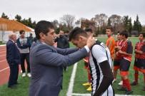GENÇLİK VE SPOR İL MÜDÜRÜ - Okul Sporları Genç Erkekler Futbol Müsabakaları