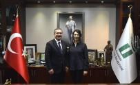 HATIRA FOTOĞRAFI - Olçar'dan Başkan Ataç'a Ziyaret