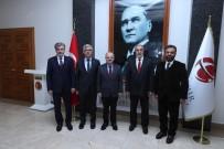 İSLAM ÜLKELERİ - SESRIC Heyeti Vali Çakacak'ı Ziyaret Etti