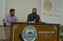 ŞANLIURFA - Siverek'te 'Noel Baba Bizim Neyimiz Olur' Semineri