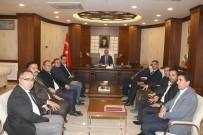 HAKKARİ VALİSİ - YÜTSO Meclis Başkanı Metin'den Vali Akbıyık'a Ziyaret