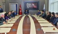 SELAHATTIN GÜRKAN - Başkan Gürkan'a Ziyaretler