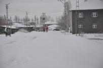 ŞEHİR İÇİ - Bulanık'ta Kar Yağışı