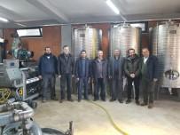 Burhaniye'de Organik Zeytinyağı Fabrikası İlgi Gördü