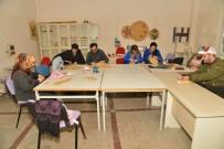 İŞ GÜVENLİĞİ - Diyarbakır'da Sepet Örücülüğü Kursu Devam Ediyor