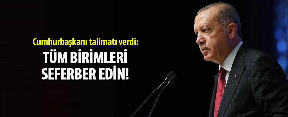 Cumhurbaşkanı Erdoğan'dan tren kazasıyla ilgili talimat