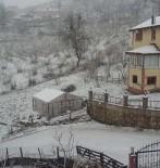 YAĞAN - Fatsa'da Beklenen Kar Yağdı