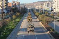 ZIRHLI ARAÇLAR - Fırat'ın Doğusundaki Sınıra Komando İle Zırhlı Araç Sevkıyatı