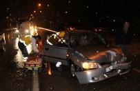 Kula'da Zincirleme Trafik Kazası Açıklaması 1 Yaralı